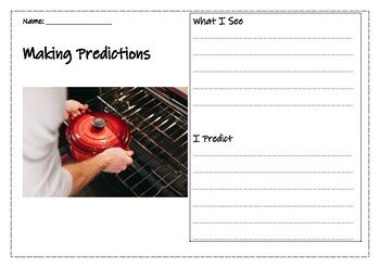 Predicting with Photos- Daily warm-ups for 2 WEEKS