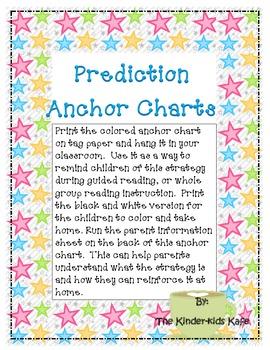 Prediction Anchor Charts