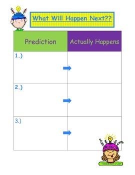 Prediction Graphic Organizer
