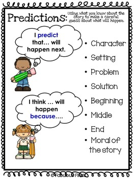 Prediction Graphic Organizers Pack