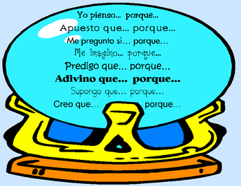 Prediction Key Terms Poster in SPANISH