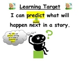 Prediction Learning Target for First Grade Reading