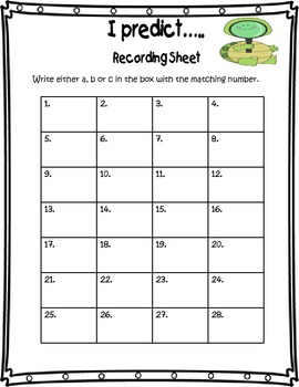 Prediction Literacy Center Scoot Game