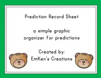 Prediction Record Sheet