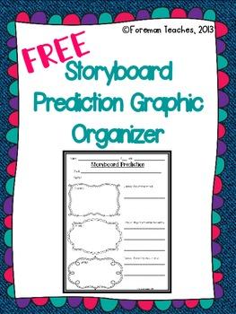 Prediction Storyboard Graphic Organizer - Freebie