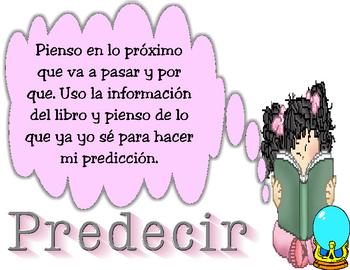 Prediction Strategy Poster in SPANISH