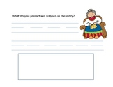 """Prediction Worksheet for """"The Mitten"""" FREE"""