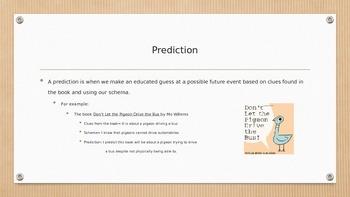 Prediction vs. Inference