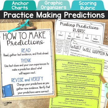 Making Predictions Activities and Task Cards by Think Grow ...