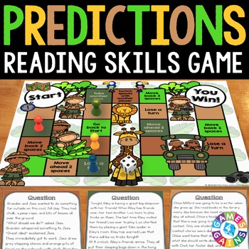Making Predictions Activity: Making Predictions Reading Game