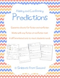 Predictions: Before, During, and After Reading