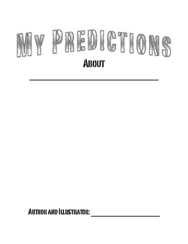 Predictions Booklet