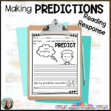 Predictions Comprehension Reading Response Freebie