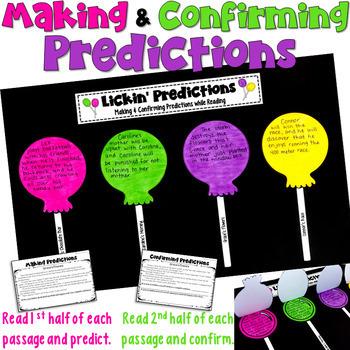 Predictions Craftivity
