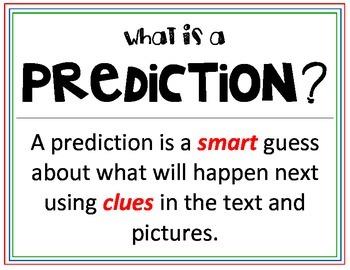 Predictions - Making, Confirming and Revising
