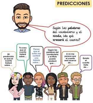 Predictions Sentence Stems (Spanish)