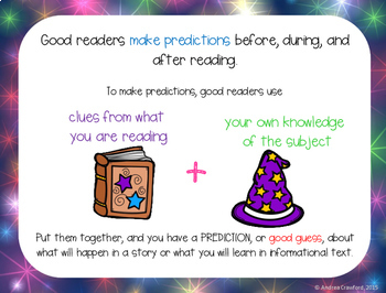 Predictions Task Cards and Activities for Fiction & Nonfiction Distance Learning