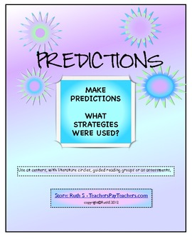 Predictions and Strategies