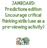 FREE Predictions/critical thinking; Jamboard (Spanish) student engagement remote