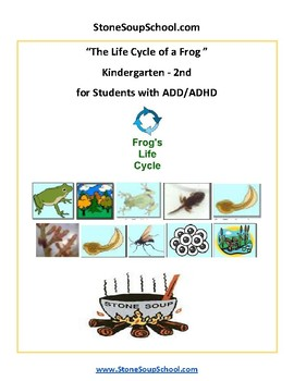 Predictions of Frog's Life Cycle -  ADD ADHD  - K - 2 Science
