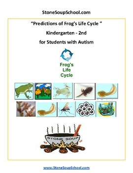 Predictions of Frog's Life Cycle -  Autism Spectrum  -K - 2 Science