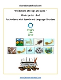 K-2 Life Cycle of Frog- Speech and Language - Science