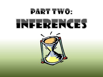 Predictions vs Inferences by JennyG