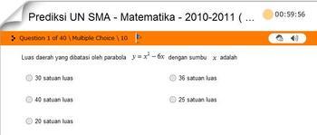 Prediksi UN SMA - Matematika - 2010-2011