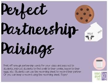 Prefect Partnership Pairings