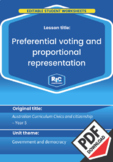 Preferential voting and proportional representation