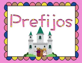 Prefijos & Prefixes in spanish