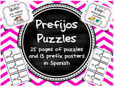 Prefijos Puzzles Spanish Prefix Game