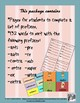 Prefijos -Sorting Game in Spanish- 132 words with prefixes