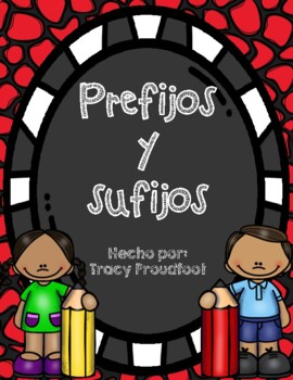 Prefijos y sufijos (Prefixes and Suffixes Sort)