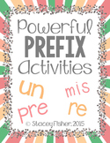 Prefix Activities & Assessments with PRE, RE, UN, and MIS
