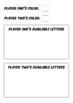 Prefix Battle - Spelling Game