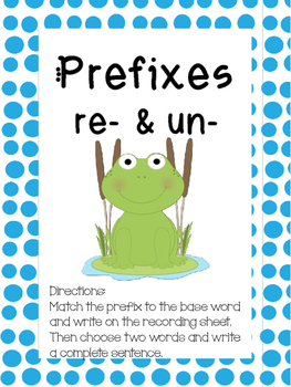 Prefix Center Activity