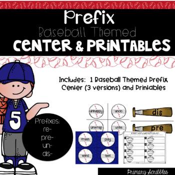Prefix Center and Printables