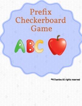 Prefix Checkerboard Game