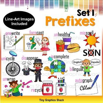 Prefix Clipart Set 1