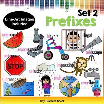 Prefix Clipart Set 2