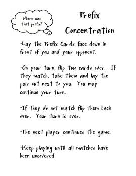 Prefix Concentration