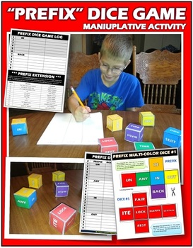 Prefix Dice Game: Engaging Manipulative