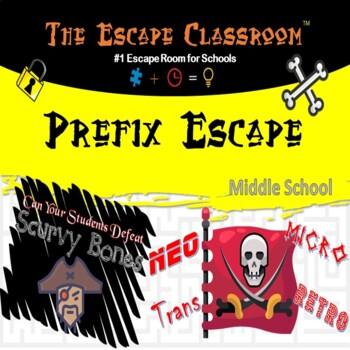 Prefix Escape Room (6th - 8th Grade) | The Escape Classroom