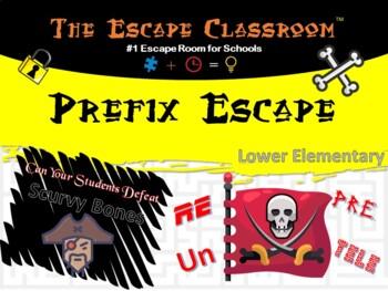 Prefix Escape Escape Classroom (Grade 2-3)