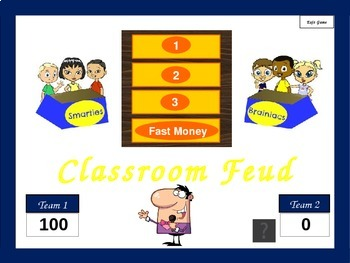 Prefix Family Feud Game