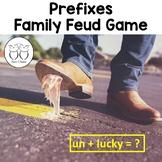 Prefix Family Feud Game