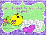 Prefix Flapbook for Interactive Notebooks