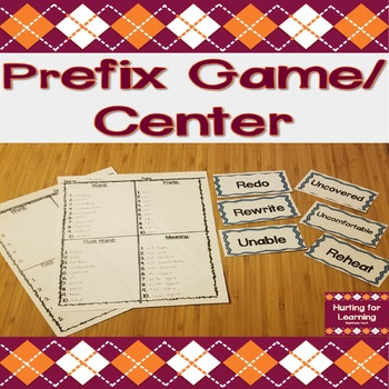Prefix Game (Help With Memorizing Prefix Meanings)