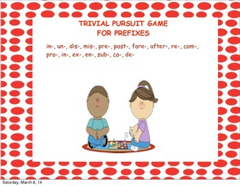 Prefix Game-Word study